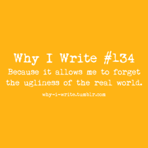 why I write 4