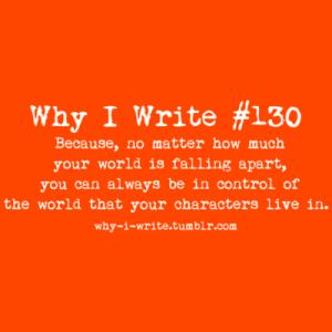 why I write 5